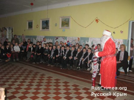 Новый Год для детей сирот детского дома в Лозовом!