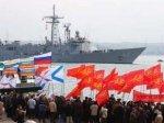 Жители Севастополя не пускают в город американских моряков