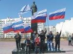 (Видео) Итоги автопобега в г. Евпатория под российскими и Андреевскими флагами