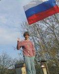 """Присоединяйтесь к акции """"Русский флаг в каждый дом!"""" (ФОТО)"""