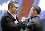 Кличко и Сосновский подержали друг друга за галстуки