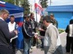 """Джанкойский штаб провел акцию """"Георгиевская ленточка"""".А в Алуште прошли торжественные линейки"""