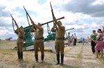 22 июня на Крымской границе у Чонгарского перешейка антифашисты с красноармейцами установили блокпост с пулеметным гнездом и производили отлов фашистов (ФОТО)